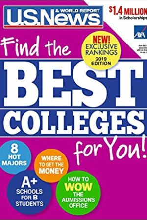 Best Colleges 2019: Find the Best Colleges for You! 2019年最佳大学:为您找到最好的大学!