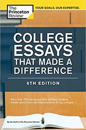 College Essays That Made a Difference 脱颖而出的申请文书