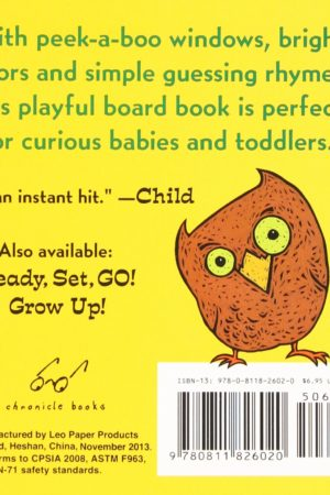 Peek-A Who? 宝宝的第一本躲猫猫游戏书:猜猜我是谁?(0-3岁适用)