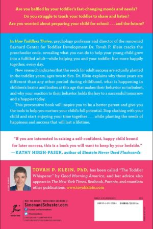 How Toddlers Thrive: What Parents Can Do Today for Children Ages 2-5 to Plant the Seeds of Lifelong Success 以孩子想要的方式陪他成长