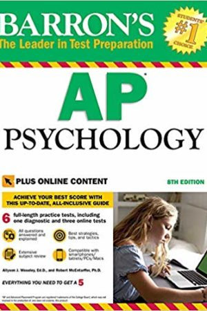 Barron's AP Psychology with Online Tests Eighth Edition