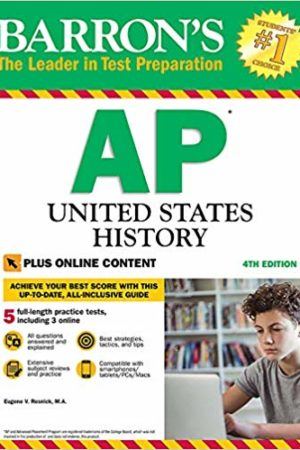 Barron's AP United States History with Online Tests Fourth Edition