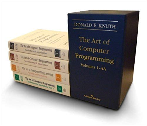 The Art of Computer Programming, Volumes 1-4A Boxed Set 1st Edition