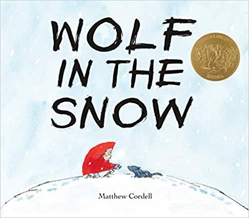 Wolf in the Snow 我遇见了一只小灰狼